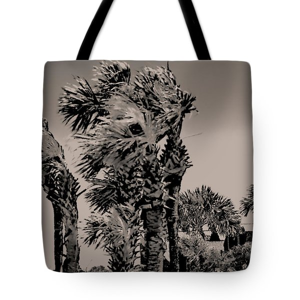Windy Day At Beach Tote Bag