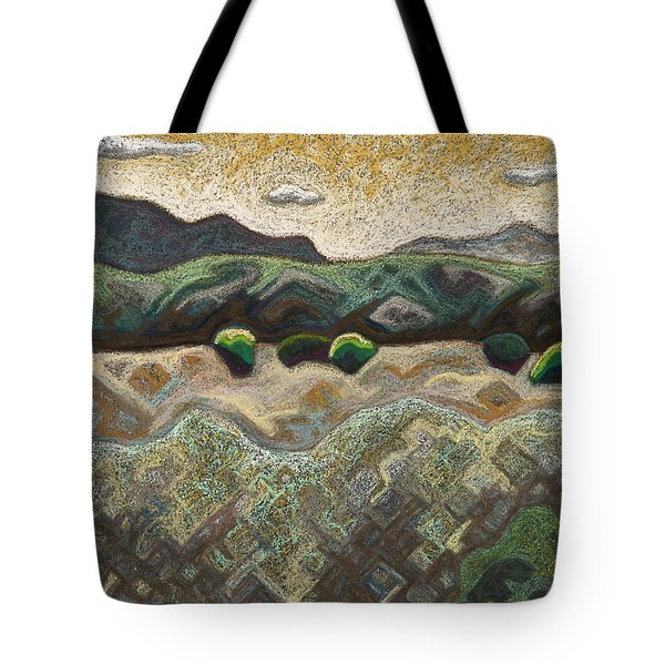 Windy Day Tote Bag by Dale Beckman