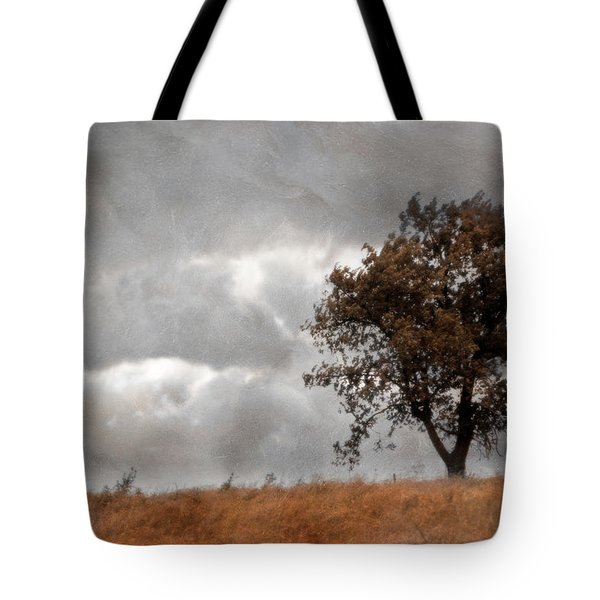 Windy Day Tote Bag by Yvonne Emerson AKA RavenSoul