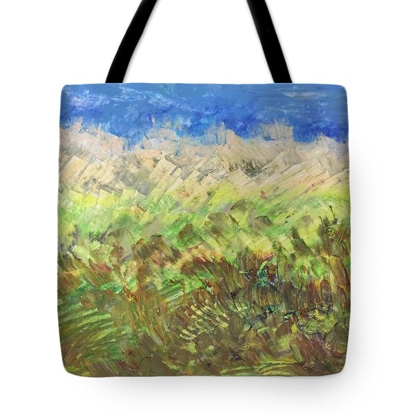 Windy Fields Tote Bag