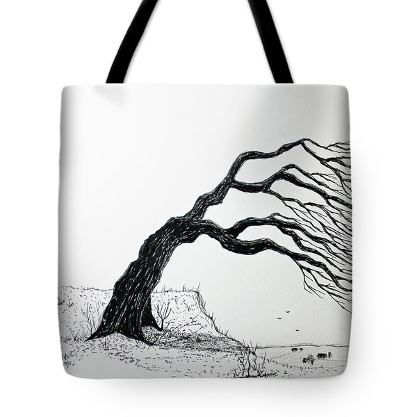 Windy Guide Tote Bag