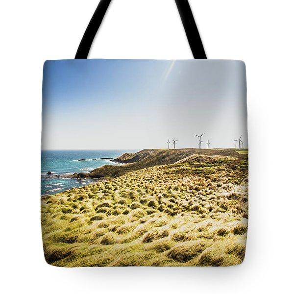 Windy Meadows Tote Bag