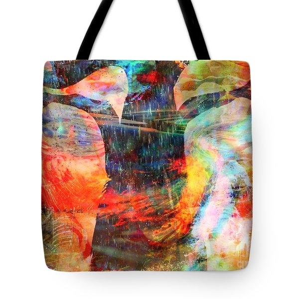 Windy Moments Tote Bag by Fania Simon