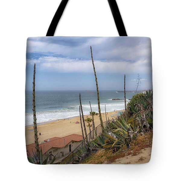 Tote Bag featuring the photograph Windy On Redondo by Michael Hope