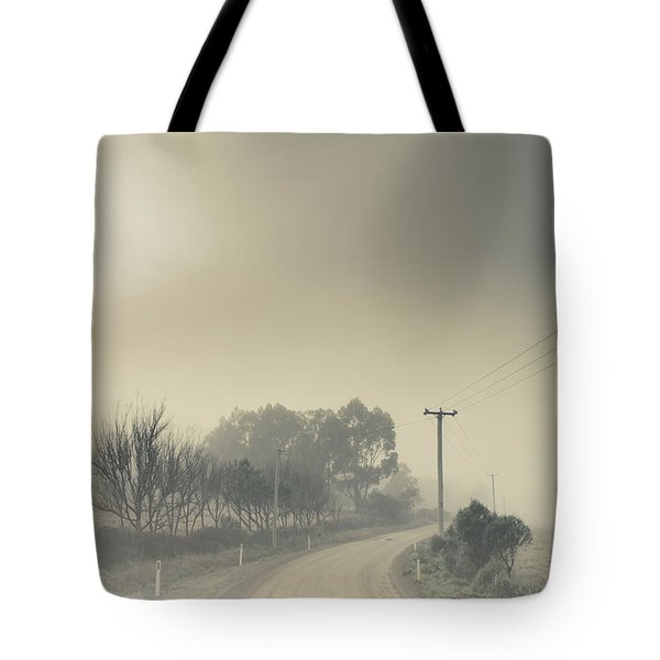 Windy Paths To Destinations Unknown Tote Bag