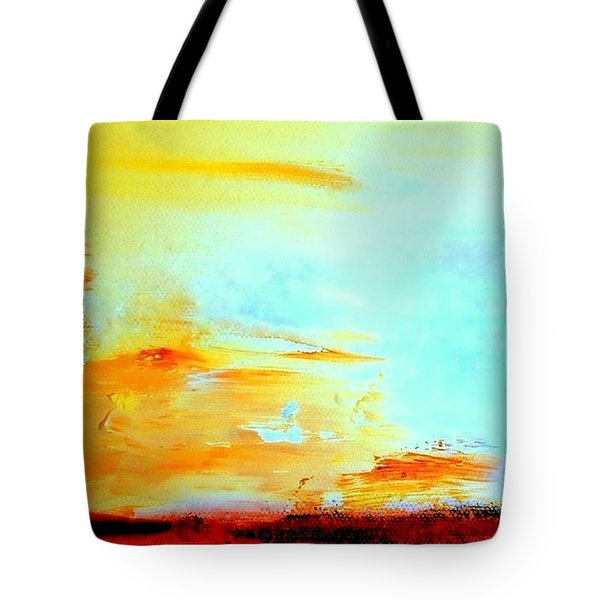 Windy Weather - Blown Away Tote Bag