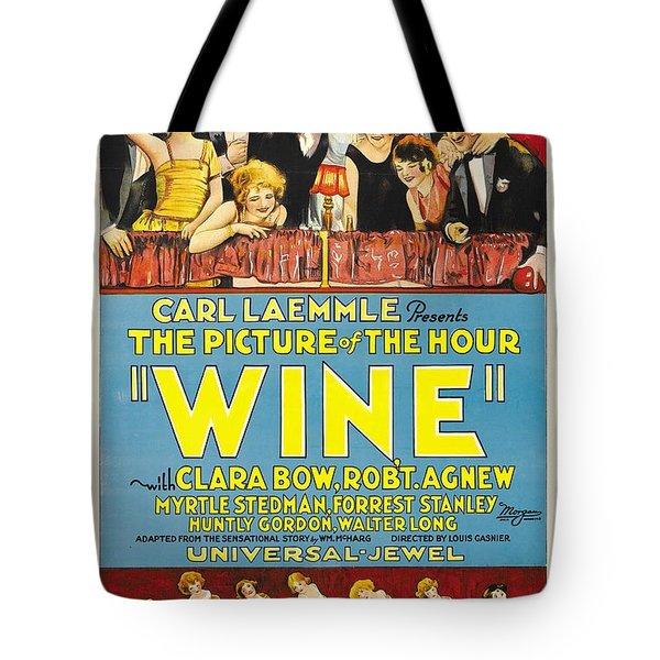 Wine 1924 Tote Bag