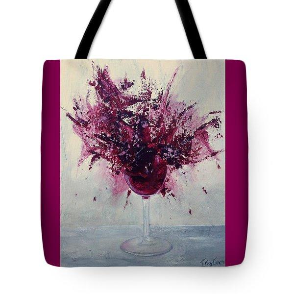 Wine Bouquet Tote Bag