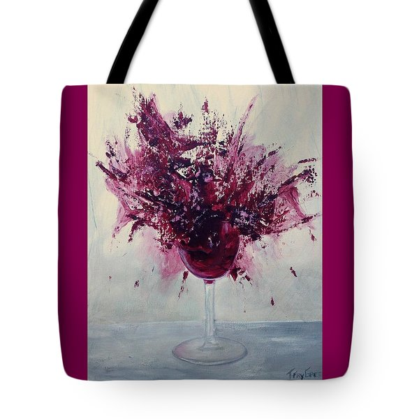 Wine Bouquet Tote Bag