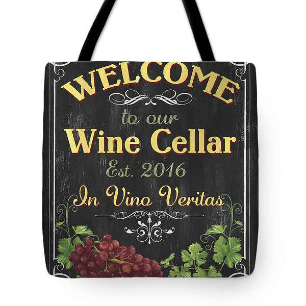 Wine Cellar Sign 1 Tote Bag
