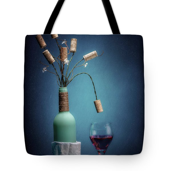 Tote Bag featuring the photograph Wine Cork Bouquet by Tom Mc Nemar