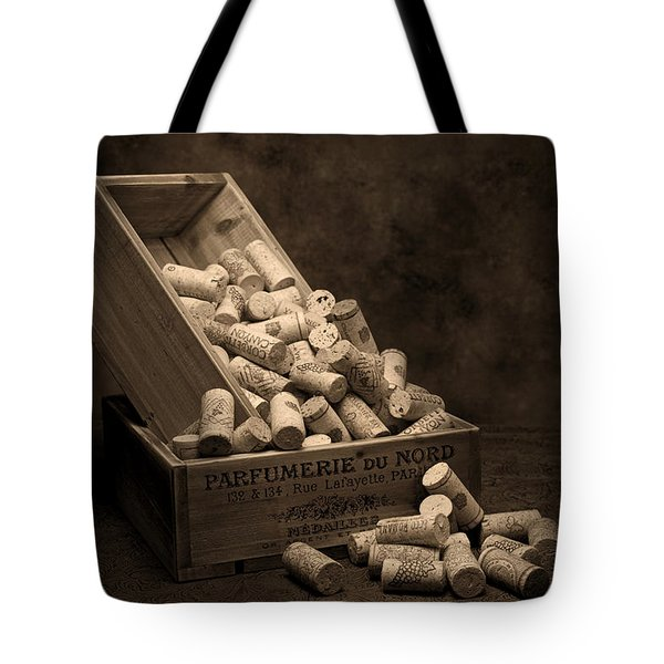 Wine Corks Still Life I Tote Bag by Tom Mc Nemar