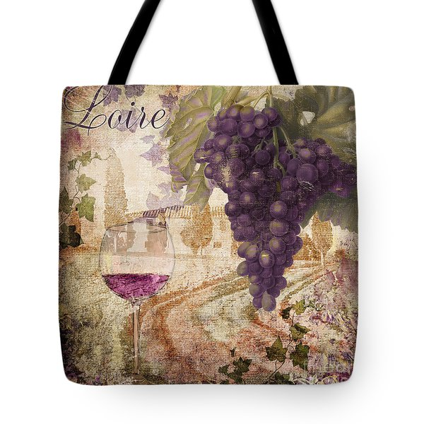 Wine Country Loire Tote Bag
