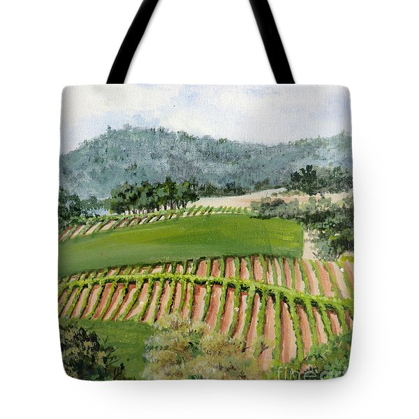 Wine Country Tote Bag