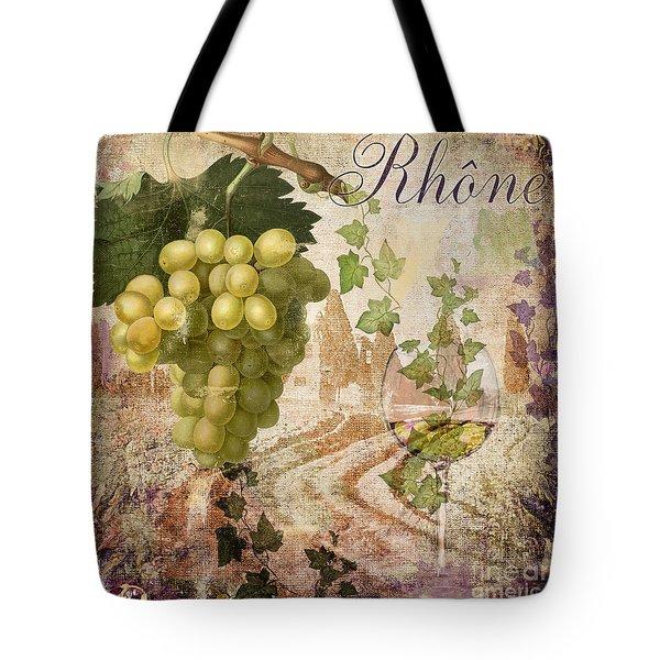 Wine Country Rhone Tote Bag