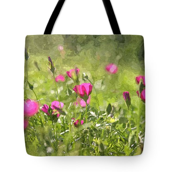 Wine Cups Tote Bag
