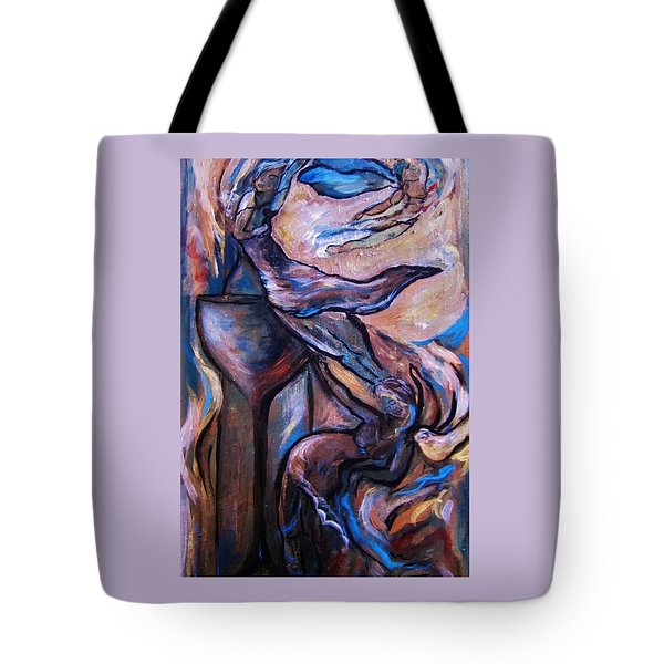 Wine Fairies Tote Bag