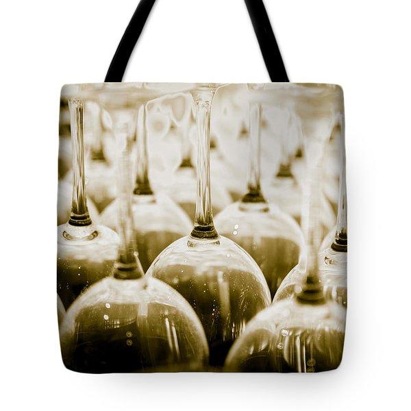 Wine Glasses Tote Bag