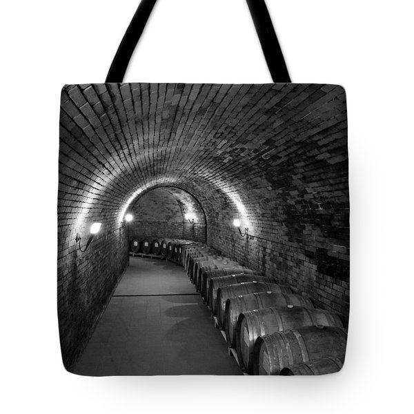 Wine In Waiting Tote Bag