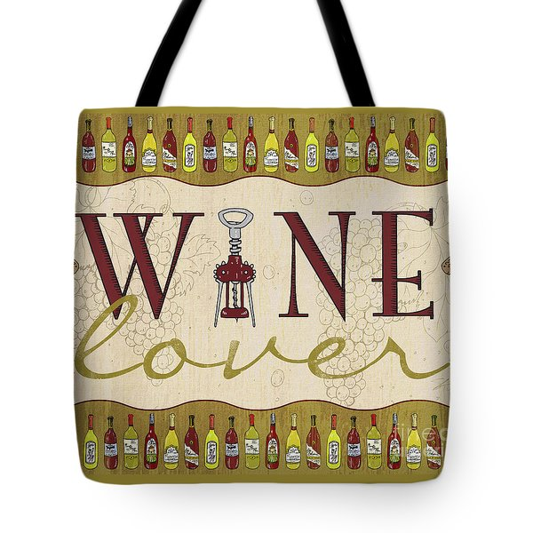 Wine Lover Tote Bag