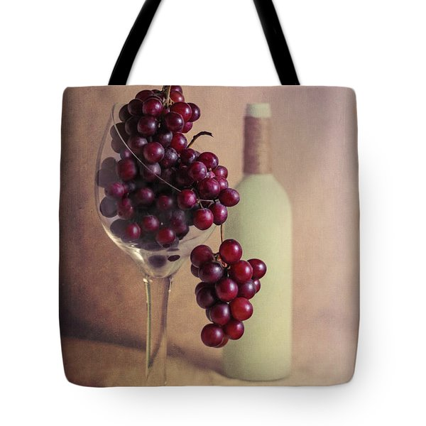 Wine On The Vine Tote Bag by Tom Mc Nemar