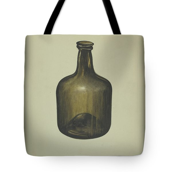 Wine Or Spirits Bottle Tote Bag