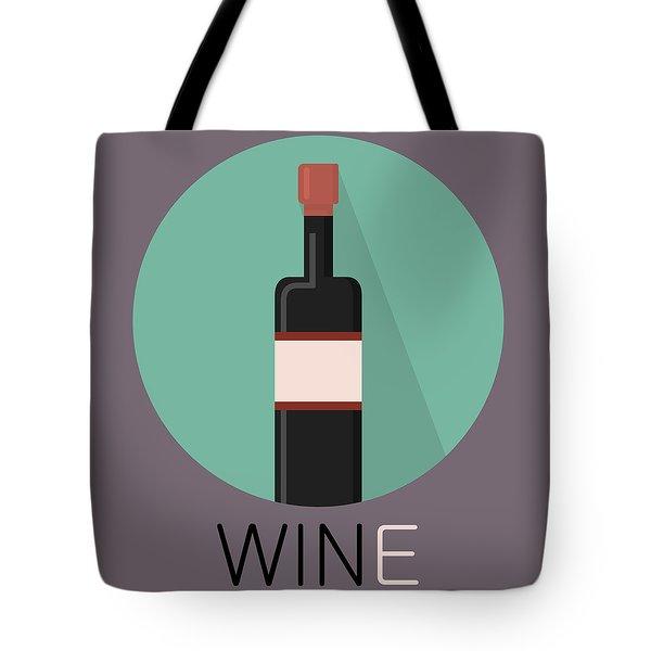 Wine Poster Print - Win And Wine Tote Bag