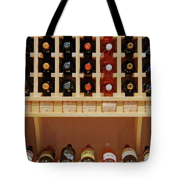 Tote Bag featuring the photograph Wine Rack - 1 by Nikolyn McDonald