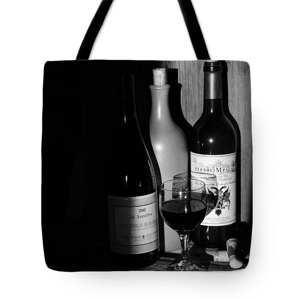 Tote Bag featuring the photograph Wine Sampling by Steven Clipperton