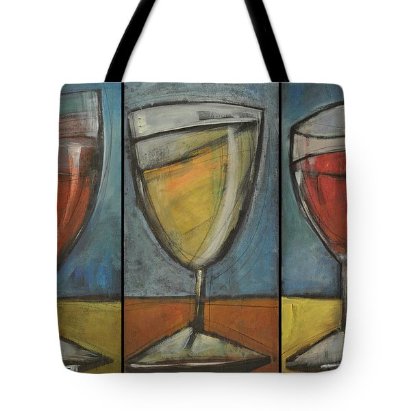 Wine Trio - Option One Tote Bag by Tim Nyberg