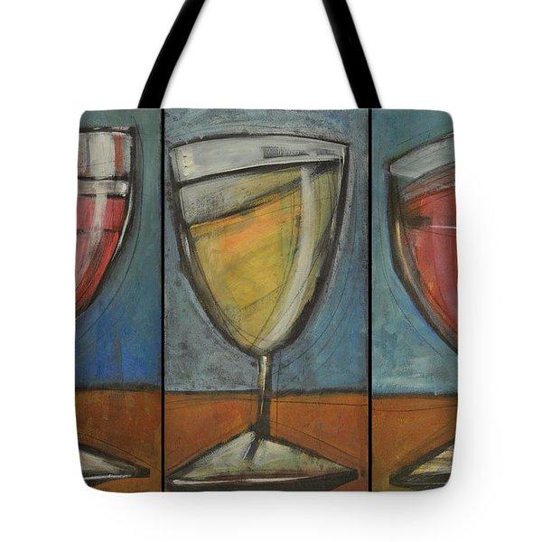 Wine Trio Option 2 Tote Bag by Tim Nyberg