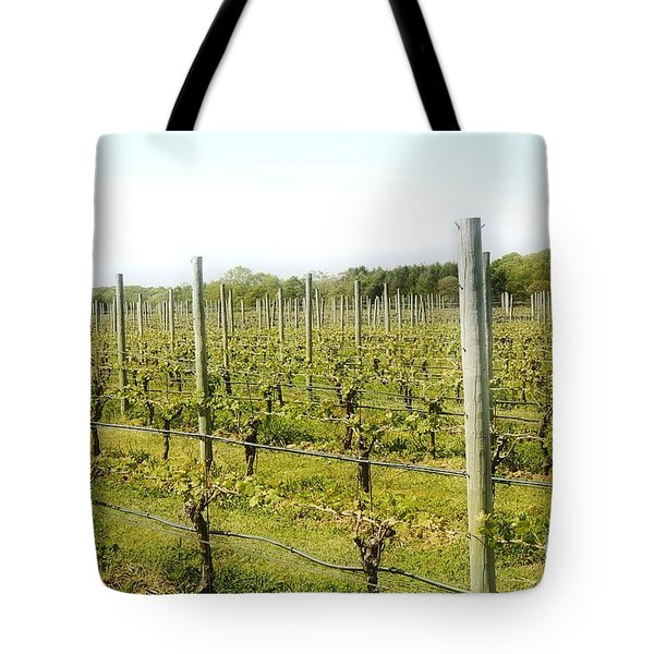 Wineries, Long Island, Ny Tote Bag