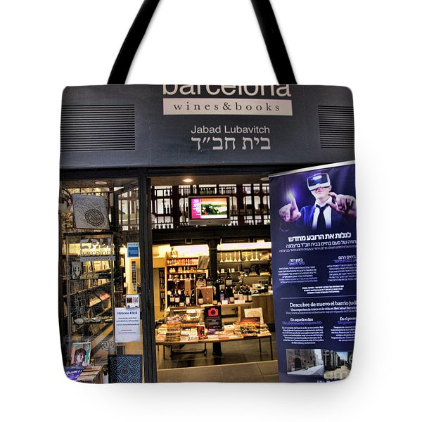 Wines Books Barcelona  Tote Bag