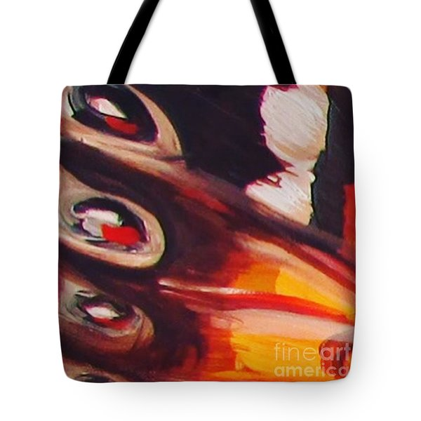 Wing Eyes Tote Bag by Art Ina Pavelescu