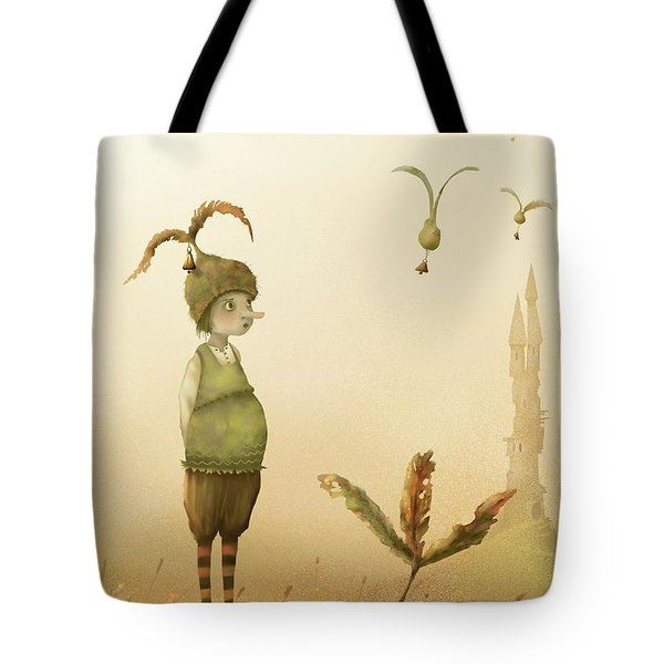 Wing-nut, Morning Bells Tote Bag