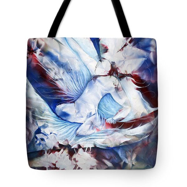 Wing Rider Tote Bag