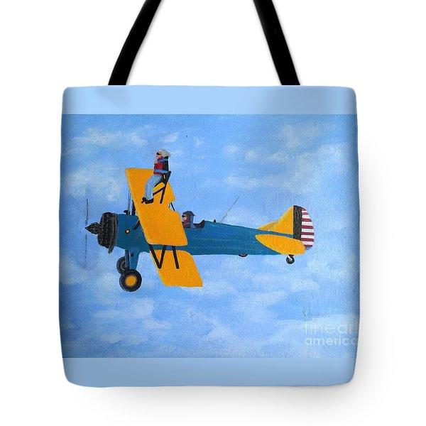 Wing Walker Tote Bag
