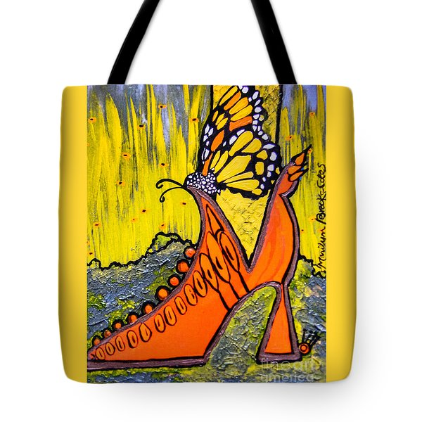 Wing Walking Tote Bag