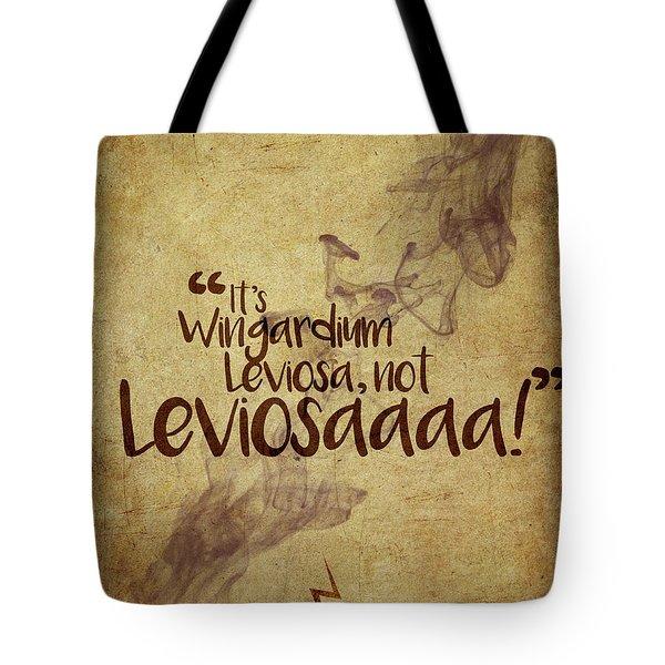 Wingardium Tote Bag