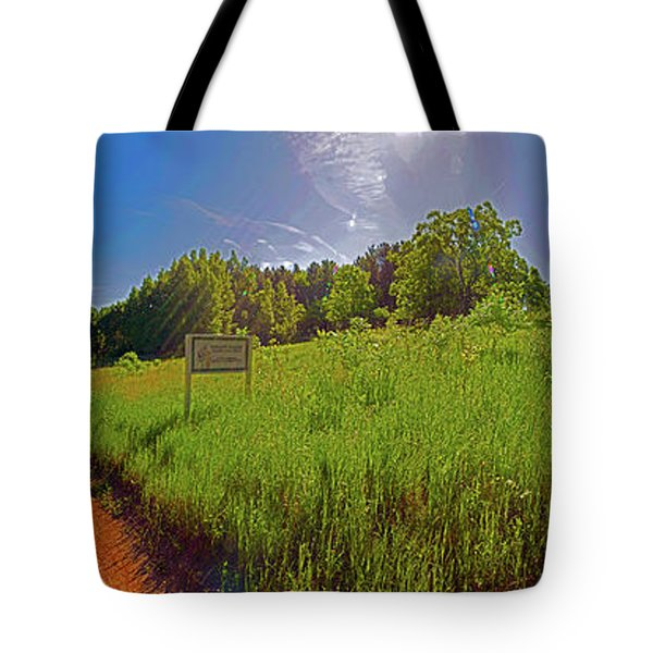 Wingate, Prairie, Pines Trail Tote Bag