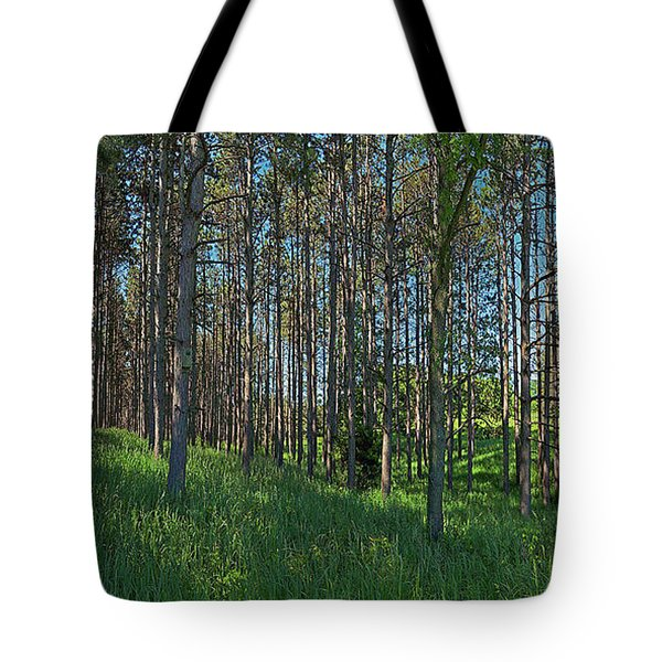 Wingate Prairie Veteran Acres Park Pines Crystal Lake Il Tote Bag