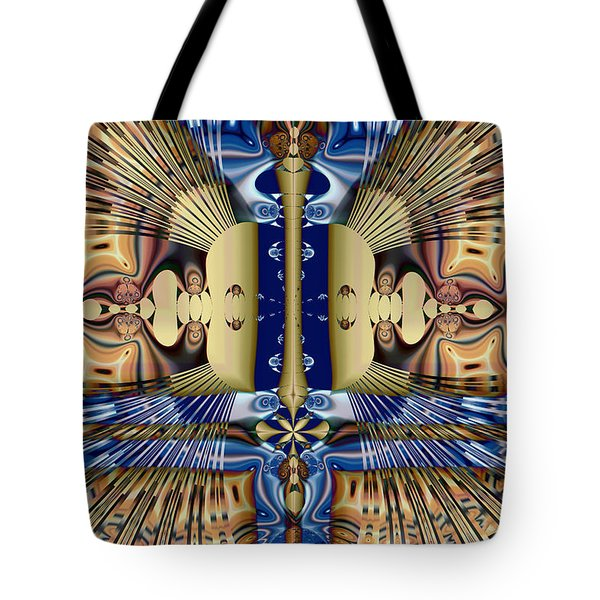Winged Anubis Tote Bag by Jim Pavelle