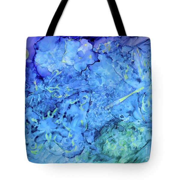 Winged Chaos Under The Moon Tote Bag