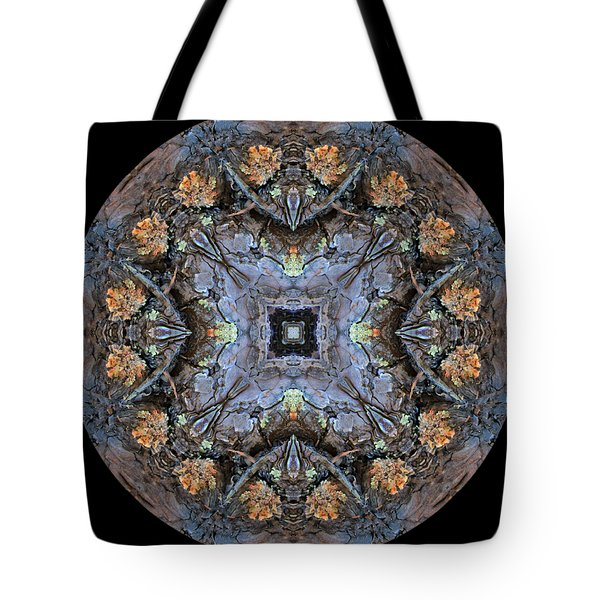 Winged Creatures In A Star Kaleidoscope #2 Tote Bag