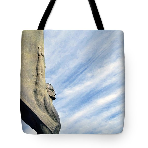 Winged Figure Of The Republic No. 1 Tote Bag