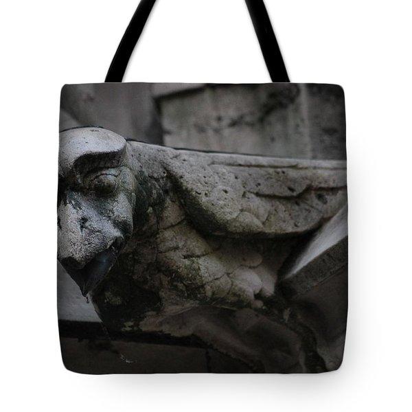 Winged Gargoyle Tote Bag