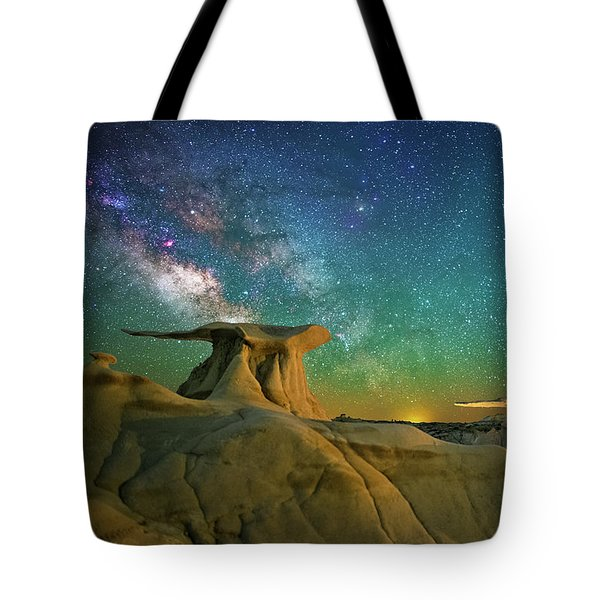 Winged Guardians Tote Bag
