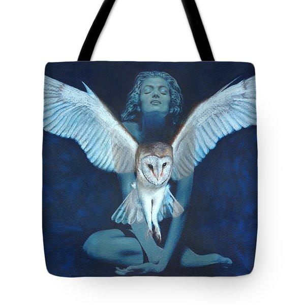 Winged Heart Tote Bag by Ragen Mendenhall