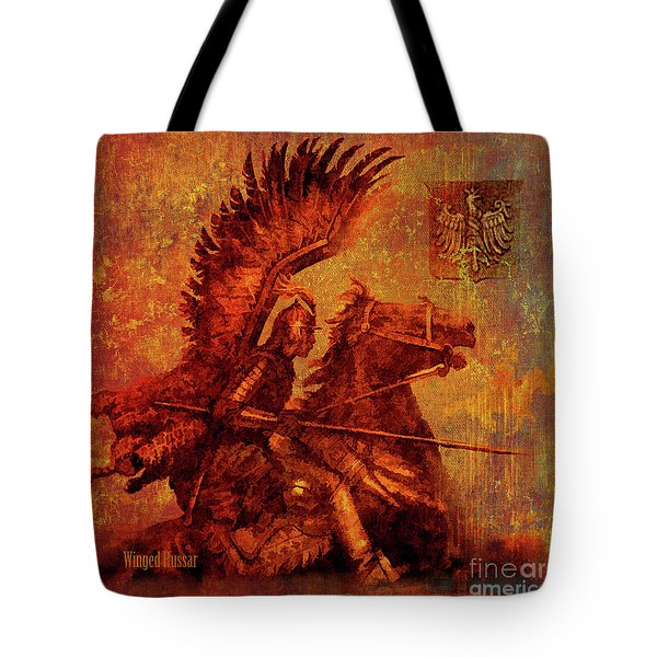 Winged Hussar 2016 Tote Bag