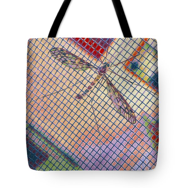 Winged Insect. Tote Bag